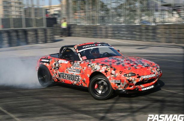 Danny George's Crowd-Sourced Formula D Miata
