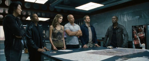 Paul Walker Fast and Furious 6 and cast