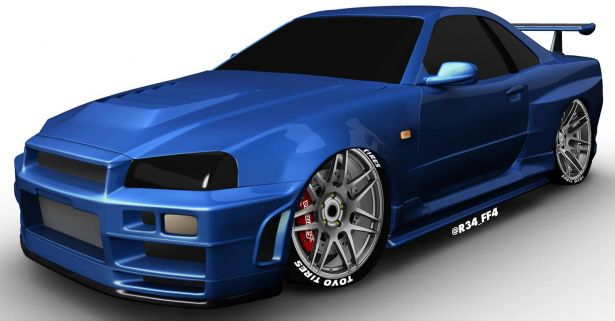 PASMAG Fast and Furious Paul Walker GTR Ryan Jones 01