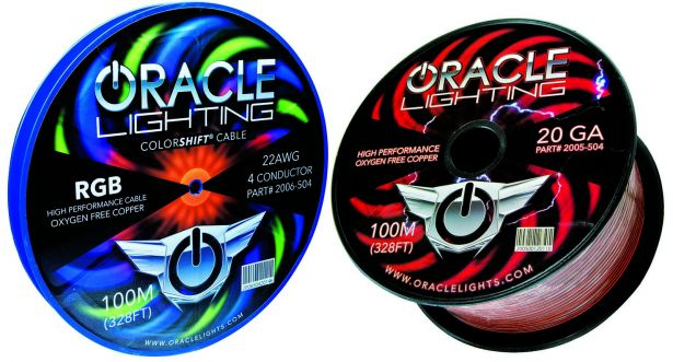 Oracle LED Wire Spools PASMAG