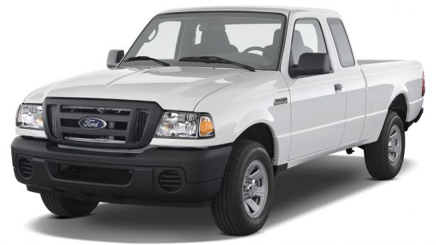 2010 ford ranger sport supercab 4 door 2wd truck angular front PASMAG copy