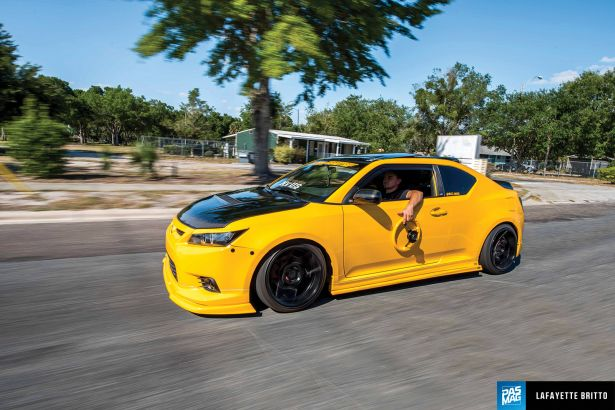 01 Wesley Aldrich 2012 Scion tC Tuner Battlegrounds