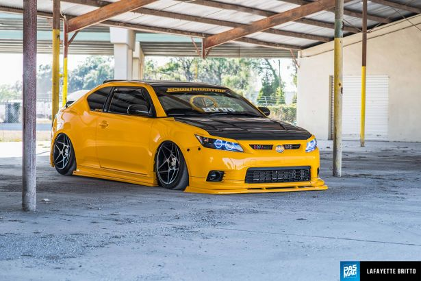 18 Wesley Aldrich 2012 Scion tC Tuner Battlegrounds