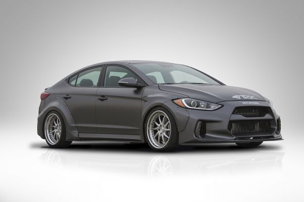 ARK Performance Solus Wide Body Kit 2017 Hyundai Elantra