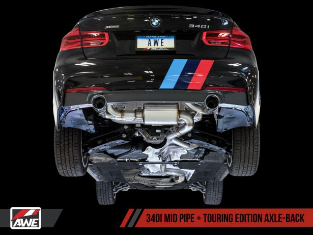AWE Tuning BMW 340i Exhaust Suite PASMAG