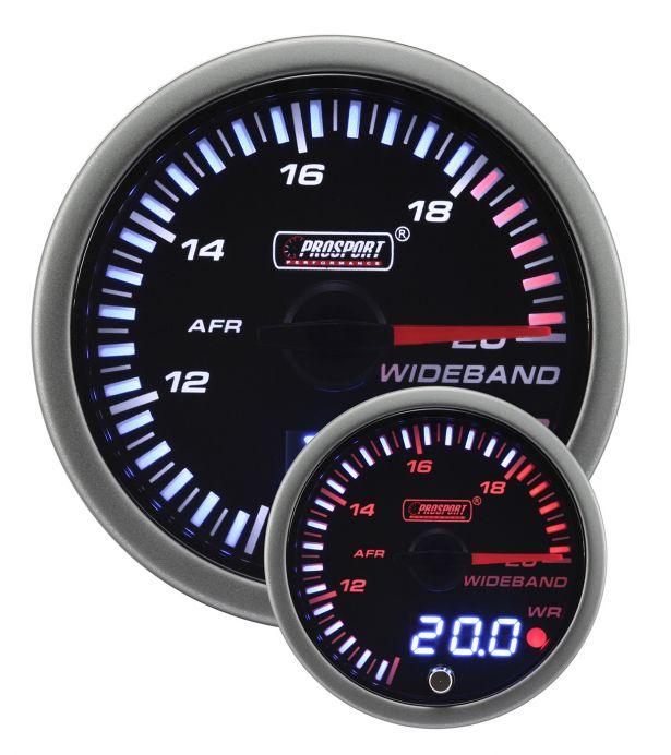 Prosport JDM Series 52mm Wideband Air Fuel Ratio Gauge