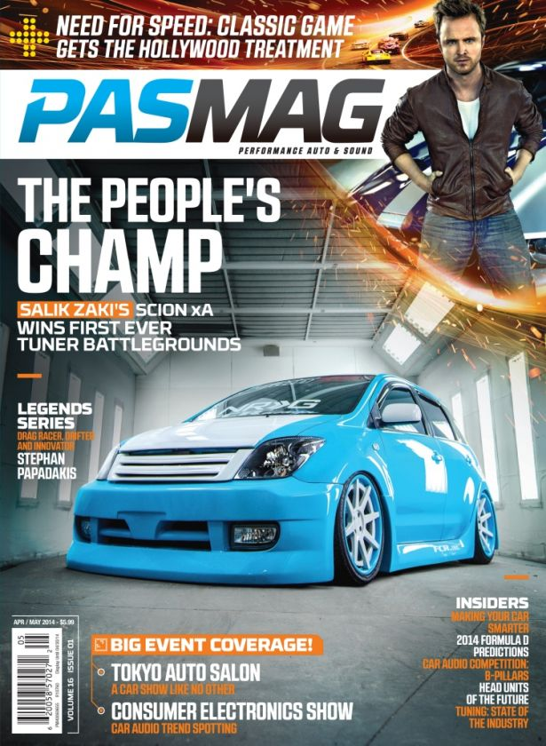 PASMAG April  2014 16.01 Cover LR