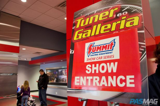 PASMAG Tuner Galleria Chicago Illinois 2014 Ray Flores Entrance
