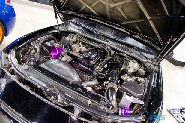 PASMAG Tuner Galleria Chicago Illinois 2014 Ray Flores Lexus SC engine