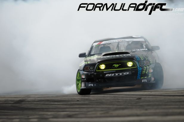 PASMAG Formula Drift 2014 Miami Florida Larry Chen Ford Mustang RTR