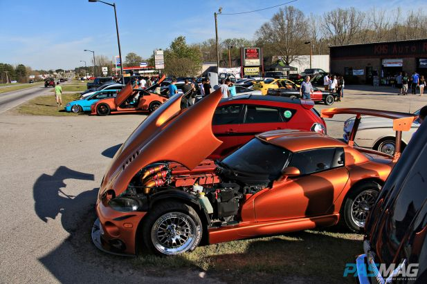 PASMAG KMS Lancaster South Carolina April 5 2014 Show Entrance