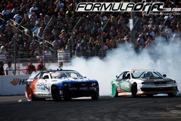 PASMAG Formula Drift Long Beach California 2014 Battle 01