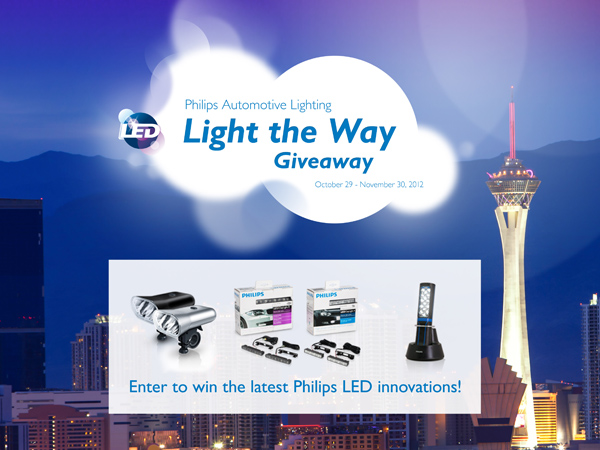Latest LED Lighting Innovations In Philips Facebook Promotion