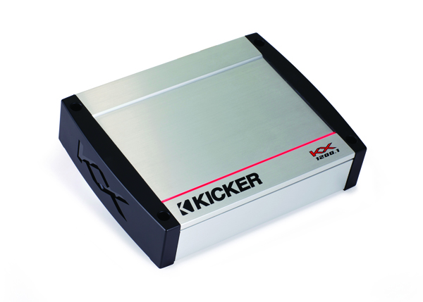 KICKER KX-Series Amplifiers Deliver Biggest, Full-Range Class-D Power from Smallest Footprint