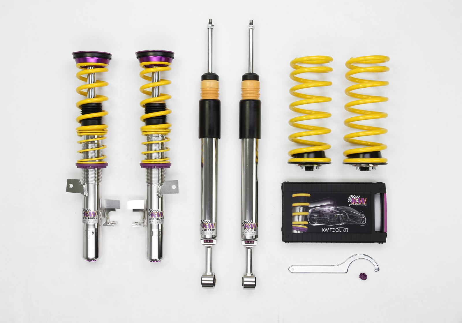 KW Variant 3 coilovers for 2013 Ford Focus ST