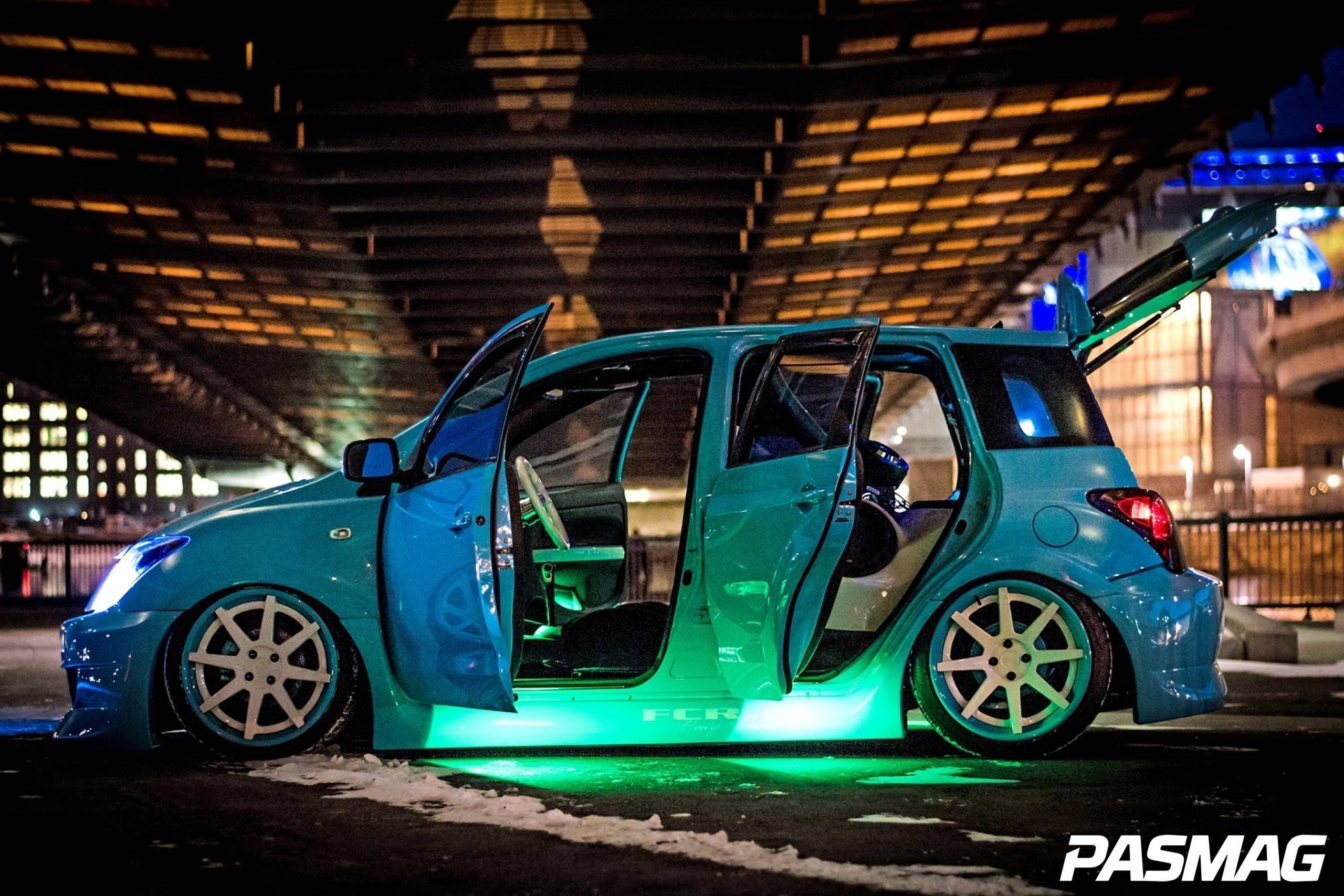 All in the Family: Salik Zaki's Scion xA