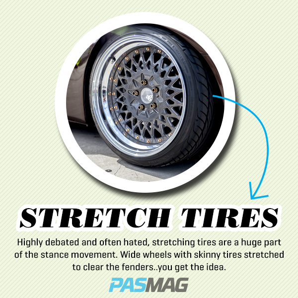 Stance 101: Stretch Tires