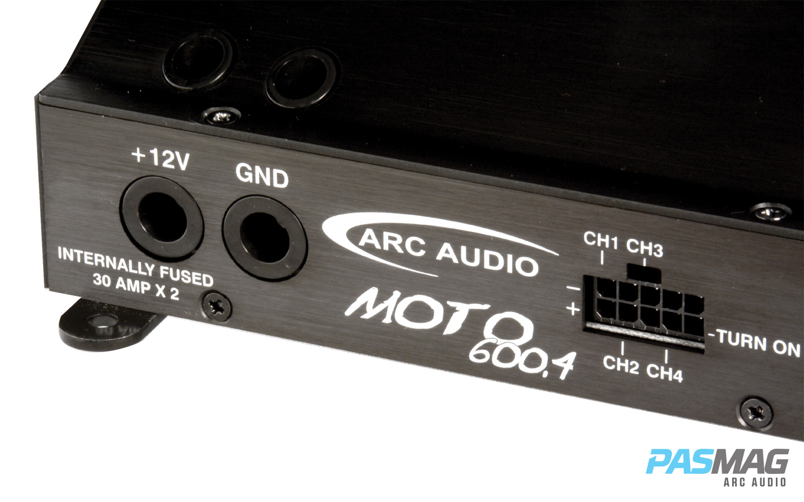 ARC Audio Moto6004 Power Terminal Side Close PASMAG