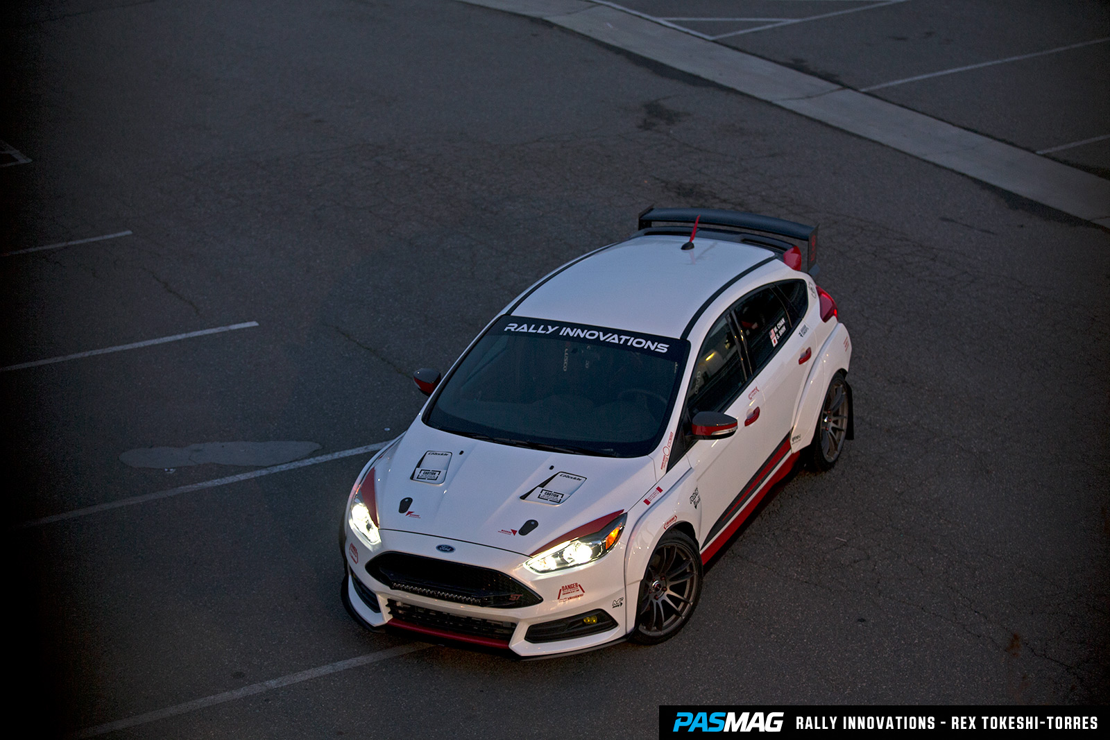 Rally Innovations 2015 Ford Focus ST Gundam PASMAG 14