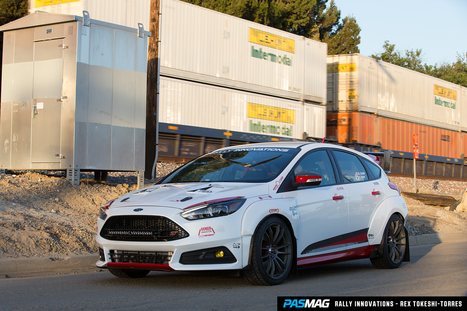 Rally Innovations 2015 Ford Focus ST Gundam PASMAG 6