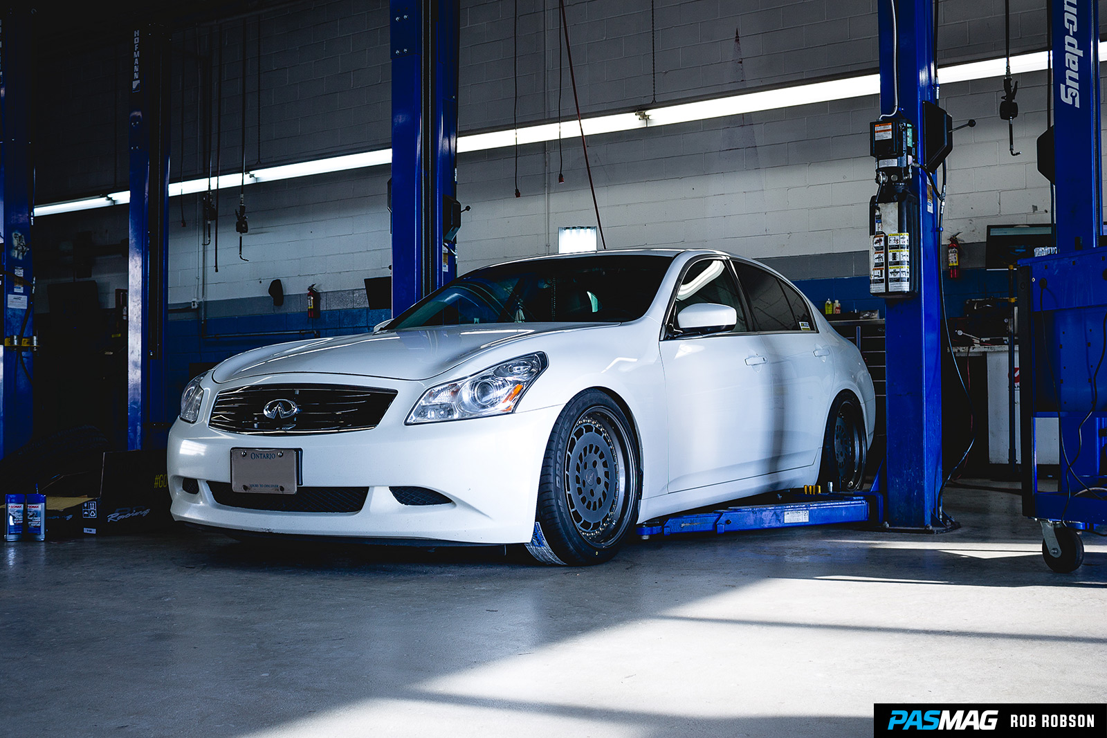 Fitted 101 Infiniti G37xS PASMAG Rob Robson 39