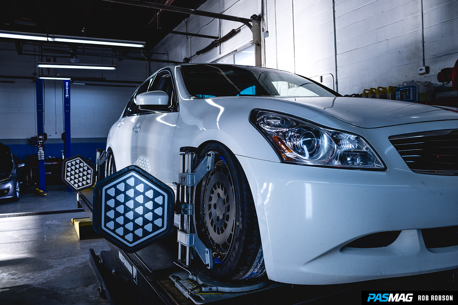 Fitted 101 Infiniti G37xS PASMAG Rob Robson 43