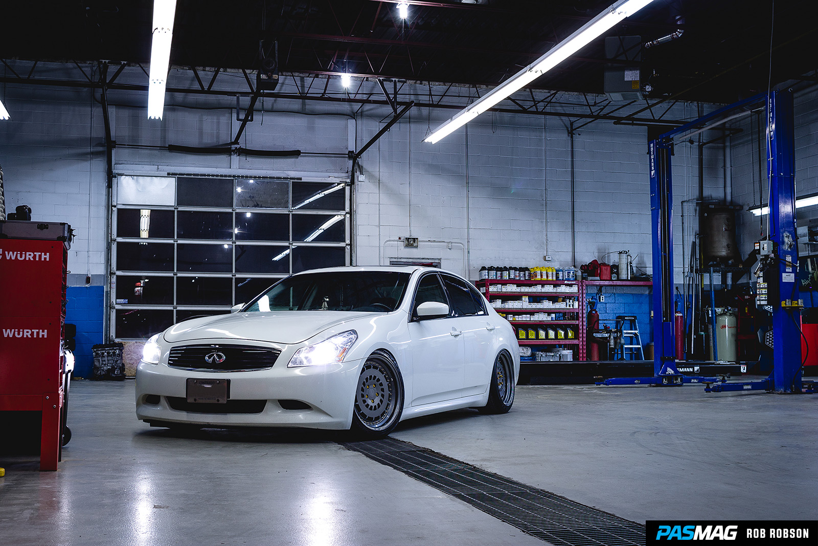 Fitted 101 Infiniti G37xS PASMAG Rob Robson 50