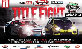 Formula Drift Round 8: Title Fight Tickets On-Sale