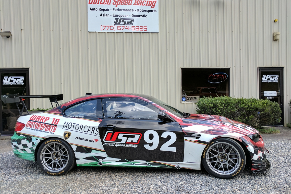 Time Attacker: United Speed Racing's Racecar-Built M3