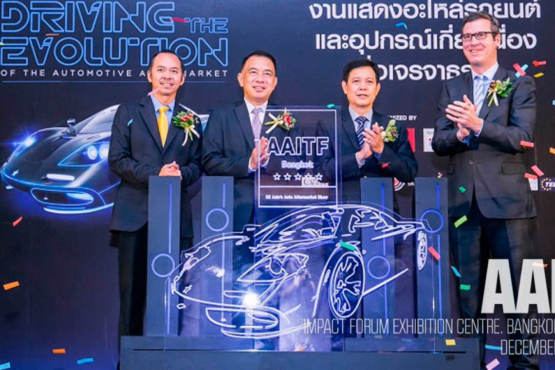 AAITF Bangkok 2015: Inaugural Trade Show Provides Much Needed Networking Platform To Lucrative Asean Auto Aftermarket