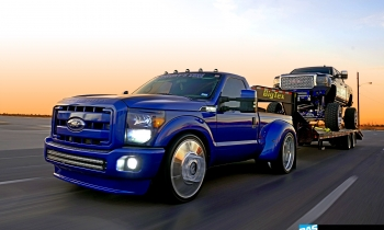 Blackjack: Cesar Olivas' 2016 GMC Sierra Denali HD & Custom Ford F-350