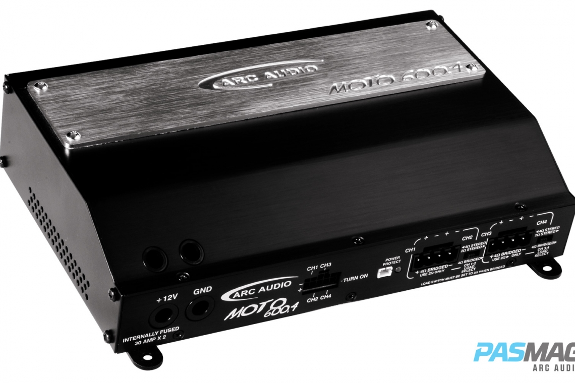 Arc Audio Moto 600.4 Amplifier Review