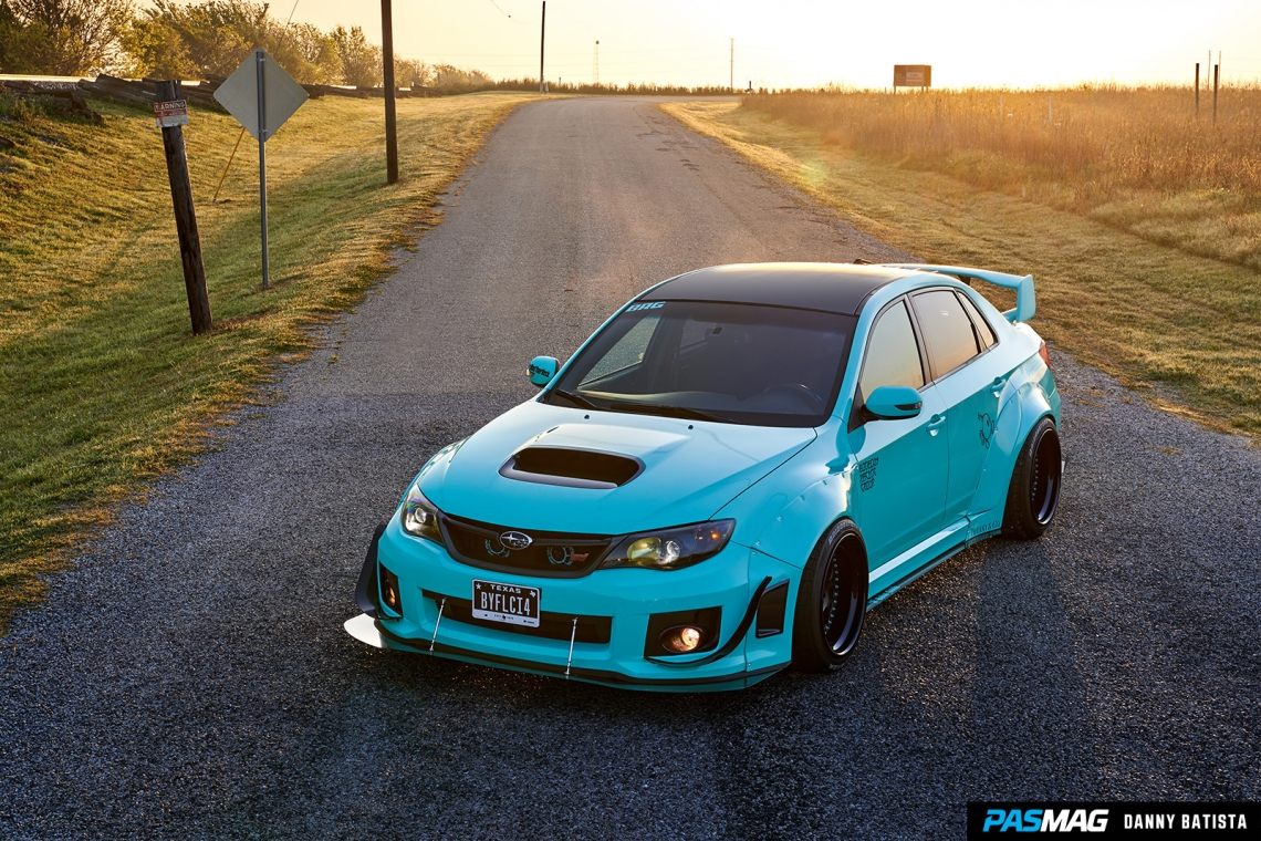 Against The Grain: Armando Villarreal's 2013 Subaru Impreza WRX STI