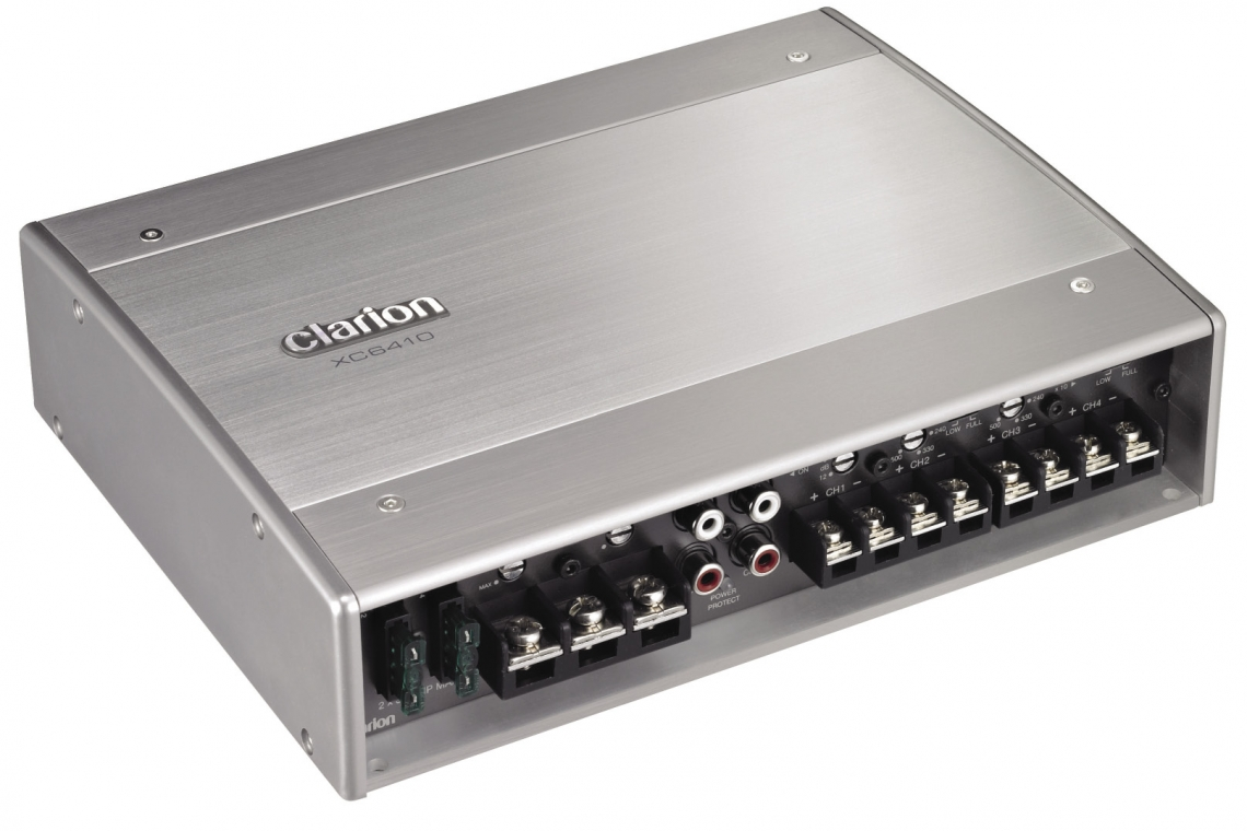Clarion XC6410 Amplifier Review