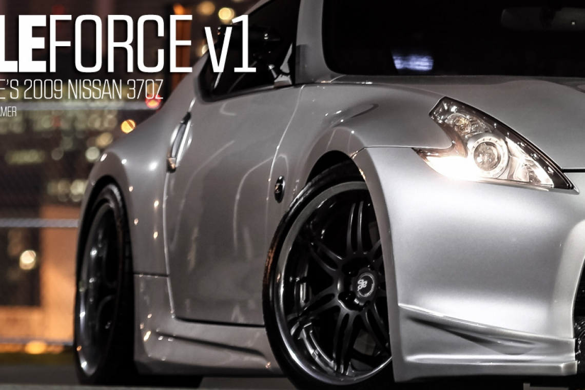 Gale Force v1: Jason Gale's 2009 Nissan 370z