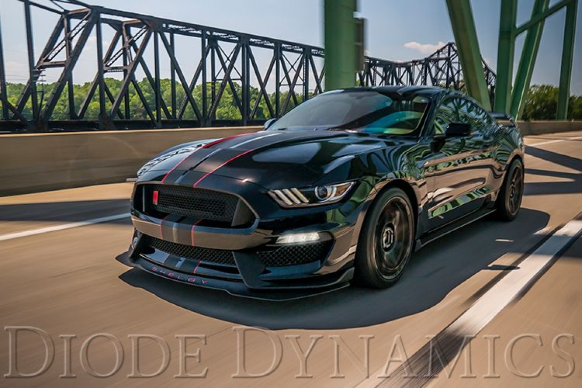 Diode Dynamics: 2015-2017 Ford Mustang Sequential LED Turn Signals (USDM)