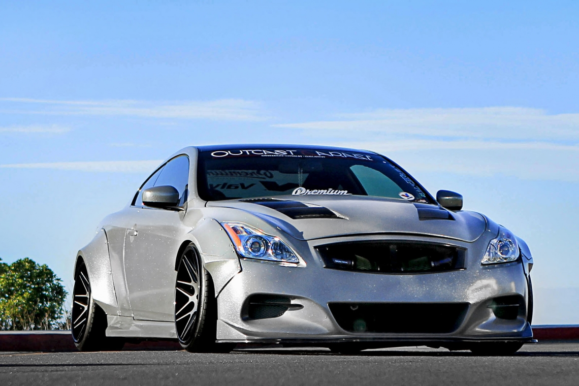 Outcast Garage OG Wide Body Fender Flares (08-15 Infiniti G37 Coupe)