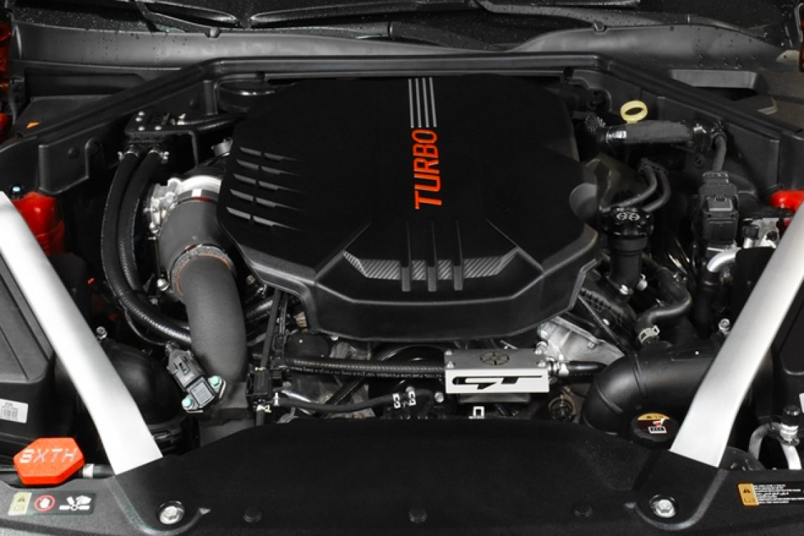 SXTH Element Engineering: Dual Oil Catch Can Kit For 2018+ Kia Stinger