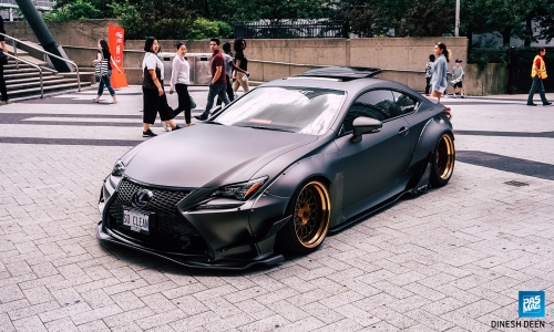 Can't Walk Away: Immanuel Wint's 2015 Lexus RC350
