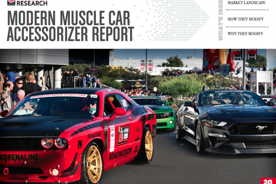 SEMA Report States Almost Half of Modern Muscle Cars are Modified