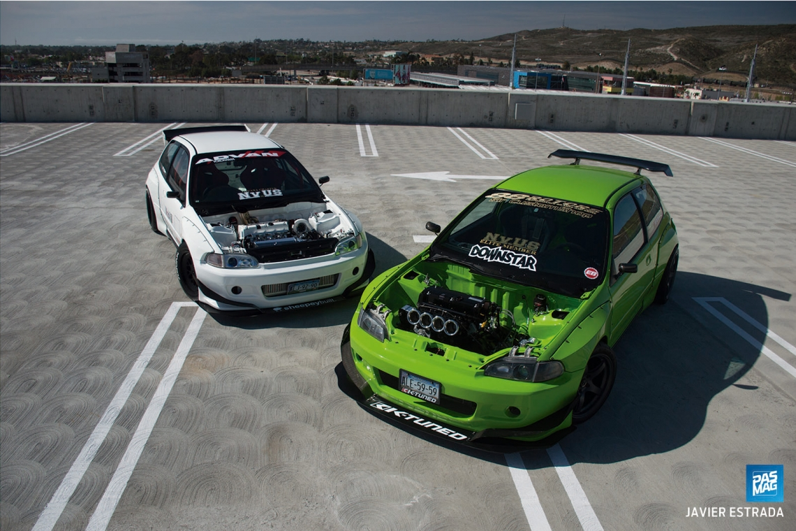 Twin Terrors: K-Swapped Civic EG - Two Ways - Essentials and Specs - Mario Quiroz Martinez