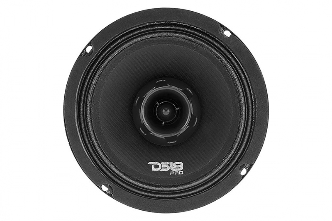 DS18 PRO ZT6 Pro Audio Mid-Range Speaker with Bullet Tweeter