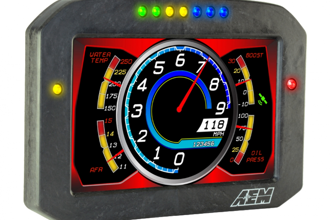 AEM Performance Electronics CD-5 & CD-7 Carbon Flat Panel Dashes Available Now