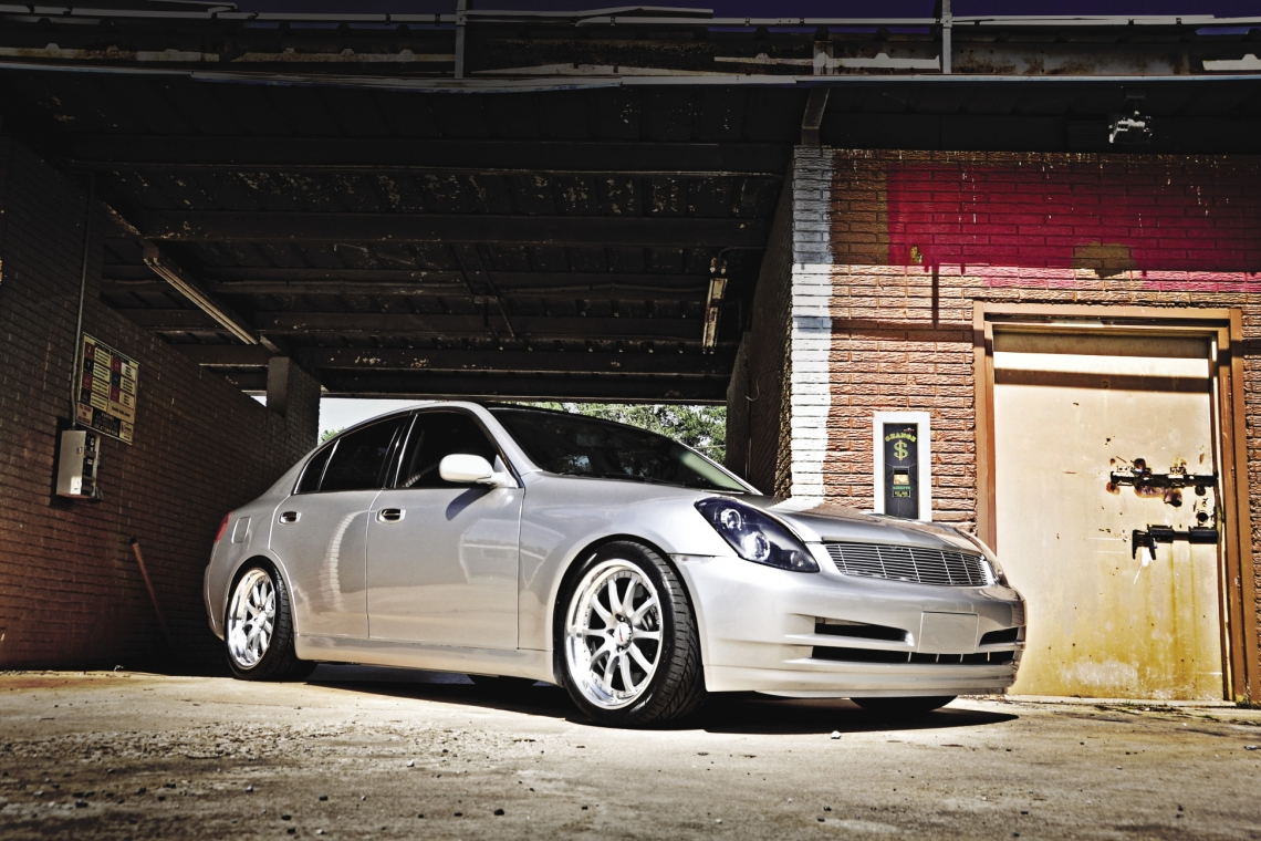 The Doctor Is In: Scott Buwalda's 2003 Infiniti G35