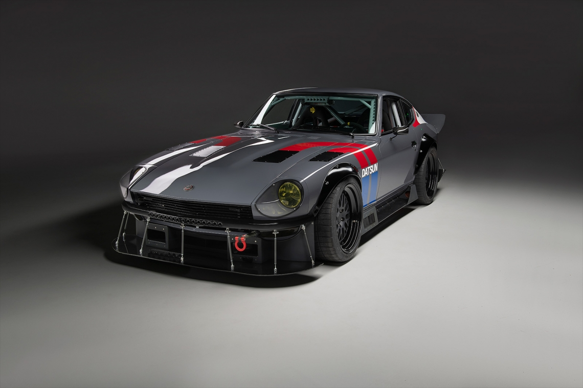 InZanity: A 1972 Datsun 240Z Built By Partnership