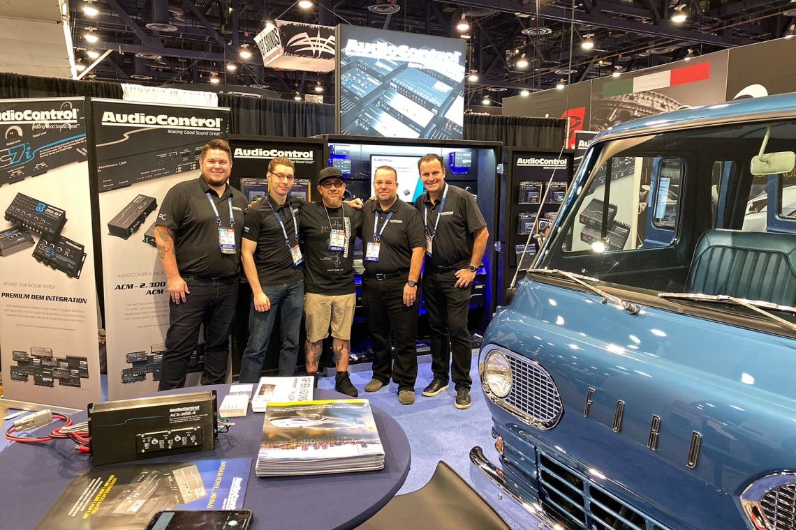 AudioControl Shines at SEMA 2019