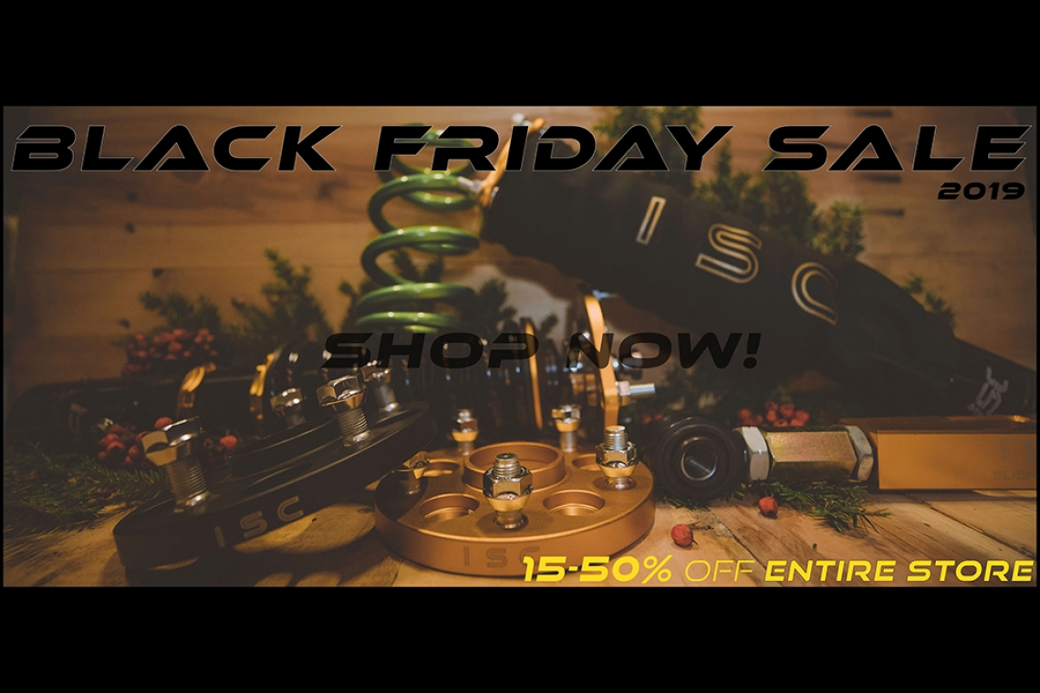 ISC Suspension's Black Friday Sale