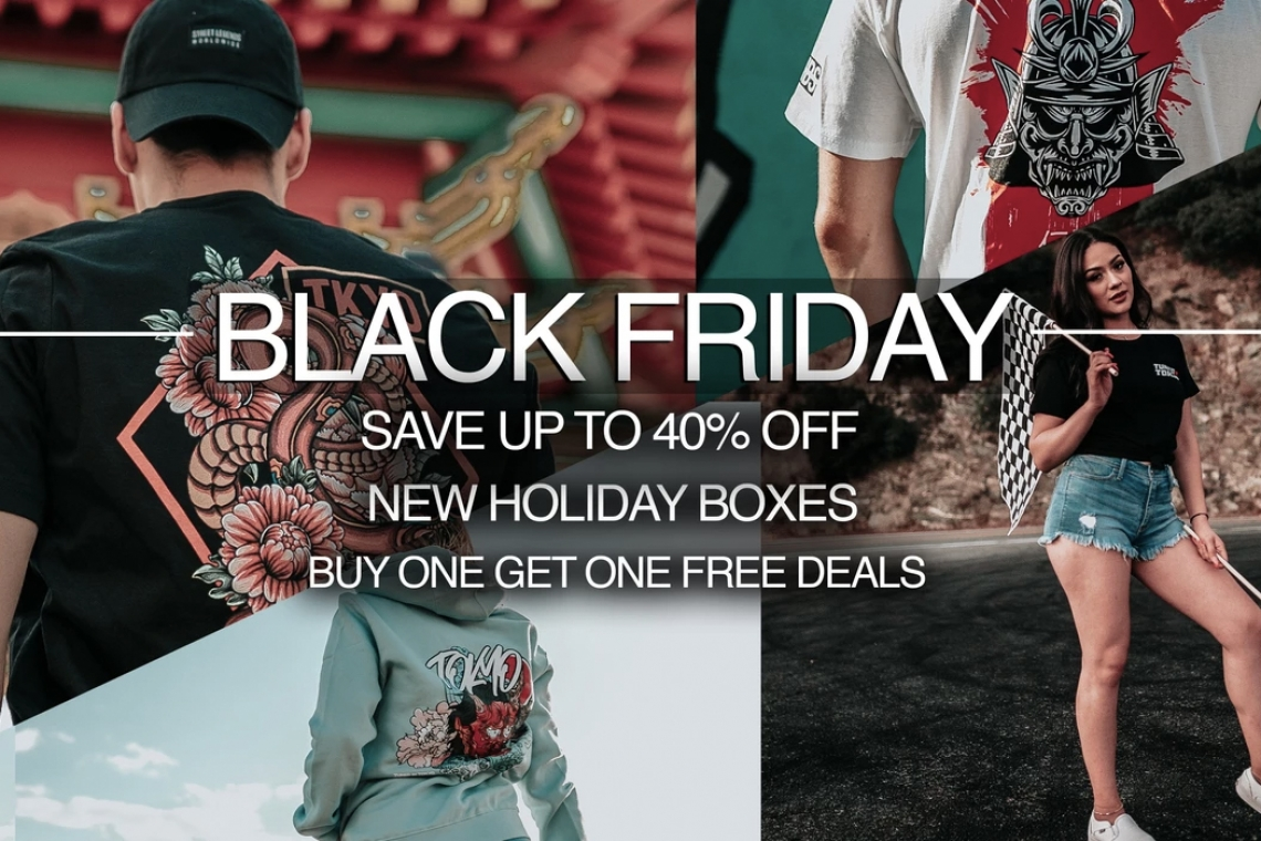 Tuned in Tokyo's Black Friday Sale Is Here!