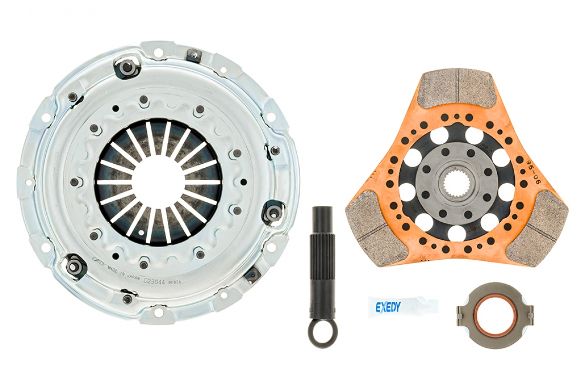 EXEDY Stage 2 Cerametallic Clutch Kit for 2017-2019 Honda Civic