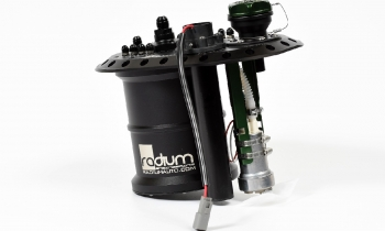 Radium Engineering Fuel Cell Surge Tank for Brushless Fuel Pumps